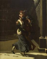 Evêché et ses dépendances - Emma et Eginhard, 1804, Pierre Antoine Augustin Vafflard, Musée d'Évreux