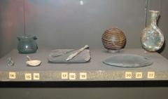 Evêché et ses dépendances - Objets romains retrouvés au Vieil-Évreux, conservés au musée d'Évreux