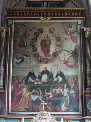 Eglise Notre-Dame-des-Arts - Français:   Intérieur de l\'Église Notre-Dame-des-Arts.
