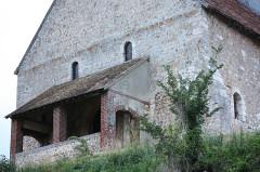 Eglise Saint-Christophe - Français:   Reuilly - Eglise Saint-Christophe, façade Ouest
