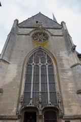 Eglise Notre-Dame -  Vue de l\'extérieur de l\'église Notre-Dame de Verneuil-sur-Avre  // Verneuil-sur-Avre - Eure - France