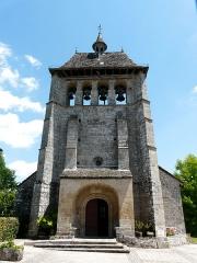 Eglise Saint-Cyr-Sainte-Julitte - Français:   L\'église Saint-Cyr-Sainte-Julitte de Saint-Cirgues-la-Loutre, Corrèze, France.