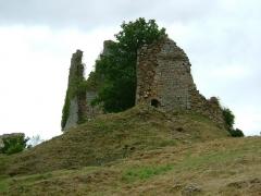 Château de Crozant - English: Crozant castle 4