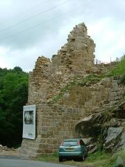 Château de Crozant - English: Crozant castle 6