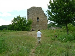Château de Crozant - English: Crozant castle 9