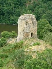 Château de Crozant - English: Crozant castle 21