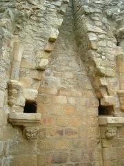 Château de Crozant - English: Crozant castle 23