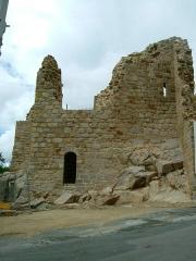 Château de Crozant - English: Crozant castle 32
