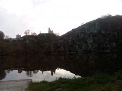 Château de Crozant - Русский: Старый замок руины Крозан (23160 Creuse Франция)