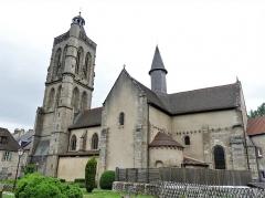 Eglise Sainte-Valérie, dite église du Moutier - Français:   L\'église Sainte-Valérie, Felletin, Creuse, France.