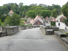 Vieux pont dit Pont Romain -  Moutier-d'Ahun, Creuse,  Limousin, France