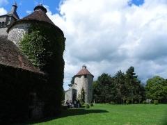 Château de Villemonteix -  Château de Villemonteix, Saint-Pardoux-les-Cards, Creuse,  Limousin, France