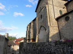 Eglise Saint-Etienne -  Eymoutiers, Haute-Vienne, Limousin,  France