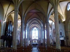 Eglise Saint-Michel-des-Lions -  Limoges Saint-Michel Lions Nef
