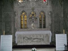 Eglise Saint-Michel-des-Lions - English: Shrine of St Martial in the church of St Michel des Lions, Limoges, France.