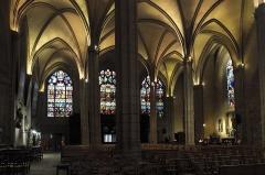 Eglise Saint-Michel-des-Lions - Deutsch: Katholische Pfarrkirche Saint-Michel-des-Lions in Limoges im Département Haute-Vienne (Nouvelle-Aquitaine/Frankreich), Innenraum