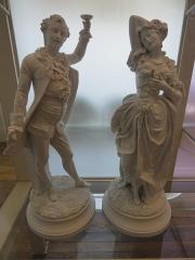 Musée national Adrien Dubouché et Ecole des Arts Décoratifs -  limoges_porcelain_museum_adrien_dubouche_paris_monvoisin_statuettes_1867