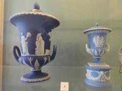 Musée national Adrien Dubouché et Ecole des Arts Décoratifs -  limoges_porcelain_museum_adrien_dubouche_wedgwood_stoke_on_trent_vases_jasper_1867