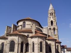 Église collégiale Saint-Léonard - Français:   Photo de l\'église de Saint-Léonard-de-Noblat dans la Haute-Vienne