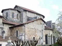 Église collégiale Saint-Léonard - Français:   Saint-Léonard-de-Noblat - Collégiale Saint-Léonard - Vue de la structure extérieure du choeur et de la coupole