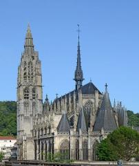 Eglise Notre-Dame - Français:   Église de Caudebec en Caux, Seine Maritime, France