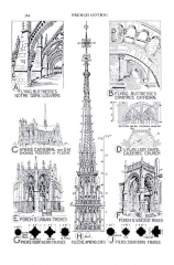 Eglise Notre-Dame - English: details of French Gothic Architecture (Fletcher), pg 564