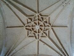 Ancienne abbaye -  La croisée de l\'église abbatiale de Montivilliers (Seine-Maritime).