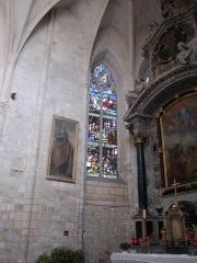 Ancienne abbaye - Deutsch:   Abtei von Montivilliers, Kirche, Detail-Hauptschiff Datum: 02.05.2011 Urheber: M. Pfeiffer alias Gordito1869 Quelle: privates Fotoarchiv des Urhebers