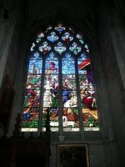 Ancienne abbaye - Deutsch:   Abtei von Montivilliers, Kirche, Fenster Datum: 02.05.2011 Urheber: M. Pfeiffer alias Gordito1869 Quelle: privates Fotoarchiv des Urhebers