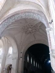 Ancienne abbaye - Deutsch:   Abtei von Montivilliers, Krypta, Decke Datum: 02.05.2011 Urheber: M. Pfeiffer alias Gordito1869 Quelle: privates Fotoarchiv des Urhebers