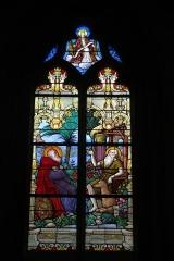 Eglise - Deutsch: Bleiglasfenster in der Kirche Notre-Dame in Neufchâtel-en-Bray im Département Seine-Maritime, Frankreich; Signatur: E. DIDRON 1901