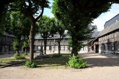 Aître de Saint-Maclou -  Rouen, the fine arts school, located in an ancient leper colony.