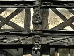 Aître de Saint-Maclou - Italiano: Rouen, atrio saint-maclou