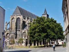 Ancienne église Saint-Eloi - Deutsch: Chor der protestantischen Kirche St. Éloi, Rouen, Département Seine-Maritime, Region Normandie (ehemals Ober-Normandie), Frankreich