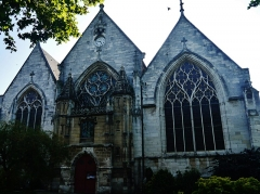 Eglise Saint-Vivien - Deutsch: Fassade der Kirche St.Vivien, Rouen, Département Seine-Maritime, Region Normandie (ehemals Ober-Normandie), Frankreich