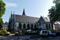 Eglise Saint-Vivien - Deutsch: Südseite der Kirche St.Vivien, Rouen, Département Seine-Maritime, Region Normandie (ehemals Ober-Normandie), Frankreich