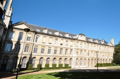 Hôtel de ville -  Town hall of Rouen, garden side
