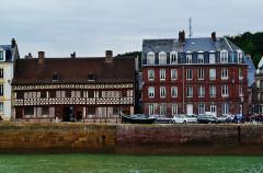 Maison dite de Henri IV - Deutsch: Der Hafen, Saint-Valéry-en-Caux, Département Seine-Maritime, Region Normandie (ehemals Ober-Normandie), Frankreich