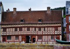 Maison dite de Henri IV - Deutsch: Henri-IV-Haus, Saint-Valéry-en-Caux, Département Seine-Maritime, Region Normandie (ehemals Ober-Normandie), Frankreich