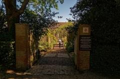 Domaine du Bois des Moutiers - English:   Varengeville-sur-Mer - Route de l\'Église - View NNE on Le Bois des Moutiers 1898 by Sir Edwin Lutyens