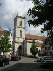 Eglise paroissiale Saint-Martin - Deutsch: Baume-les-Dames, Saint-Martin außen