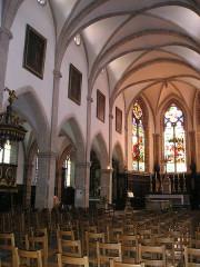 Eglise paroissiale Saint-Martin - Deutsch: Baume-les-Dames, Saint-Martin innen