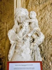 Château (ensemble du) - Français:   Vierge à l\'Enfant. Chapelle du château de Belvoir. Doubs