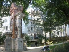 Jardin public -  Square Castan Besancon 4