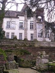 Jardin public -  Square archéologique Castan de Besançon, France