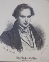 Maison natale de Victor Hugo - French painter, lithographer and graphic artist brother of Eugène Devéria