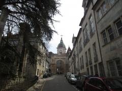 Porte Noire - Français:   Cathédrale Saint-Jean et Porte Noire de Besançon