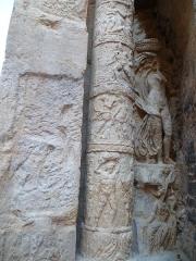 Porte Noire - Français:   Arc de triomphe édifié sous l\'empereur romain Marc Aurèle au iie siècle à Besançon