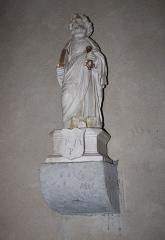 Eglise - Français:   Eglise Saint-Jacques de Chaux-Neuve: statue de Saint-Pierre en albâtre (classée M.H.)