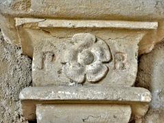 Eglise - Français:   Culot d\'ogive, dans l\'église de Chaux-Neuve. Doubs